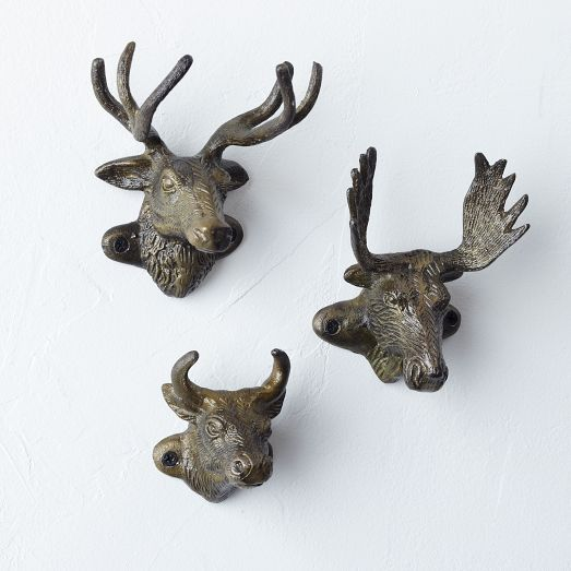 Made Of Aluminum These Trophy Hooks Are Witty Representations Animal Heads