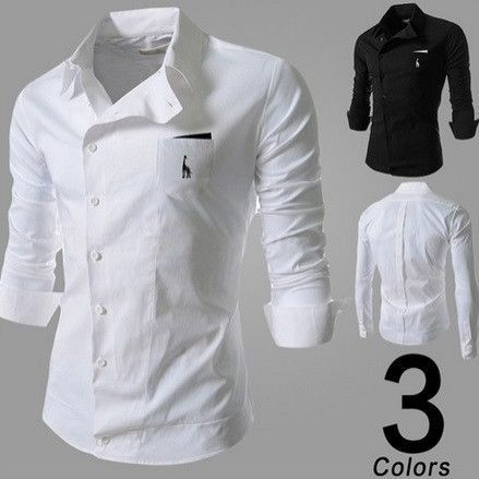 Gender Men Item Type Shirts Closure Type Single Breasted Material Cotton,Polyester Collar Turndown Collar Sleeve Length Full Shipping FREE  Worldwide! is part of Shirts -