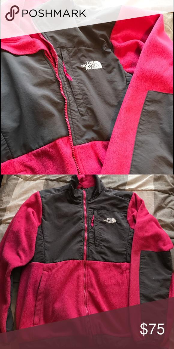 Women's M pink fleece North Face Women's Denali Pink Fleece, size M North Face Jackets & Coats