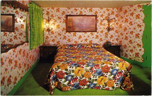 Room 172: California Poppy #madonnainn #sanluisobispo #california #centralcoast #vintage #retro #kitsch #eclectic #funky