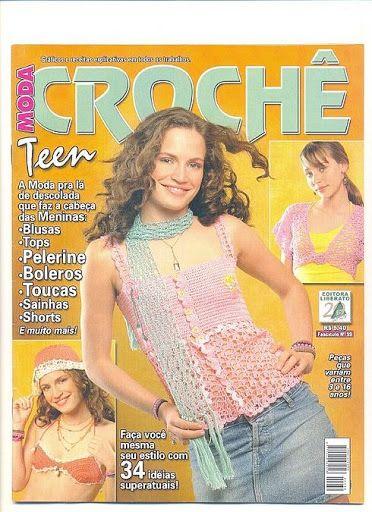 Moda Croche Teen_N°59 - claudia Rabello - Álbuns da web do Picasa