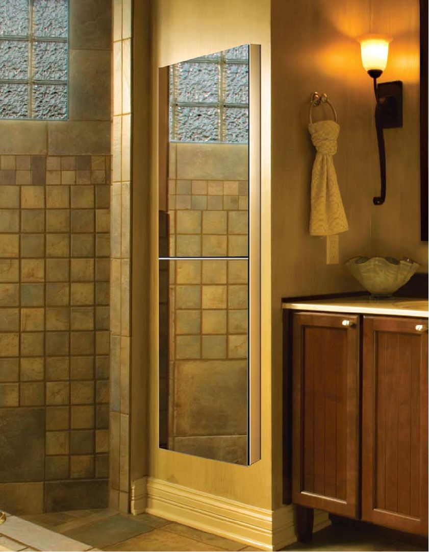full length medicine cabinet decorating pinterest custom shower doors custom mirrors and. Black Bedroom Furniture Sets. Home Design Ideas