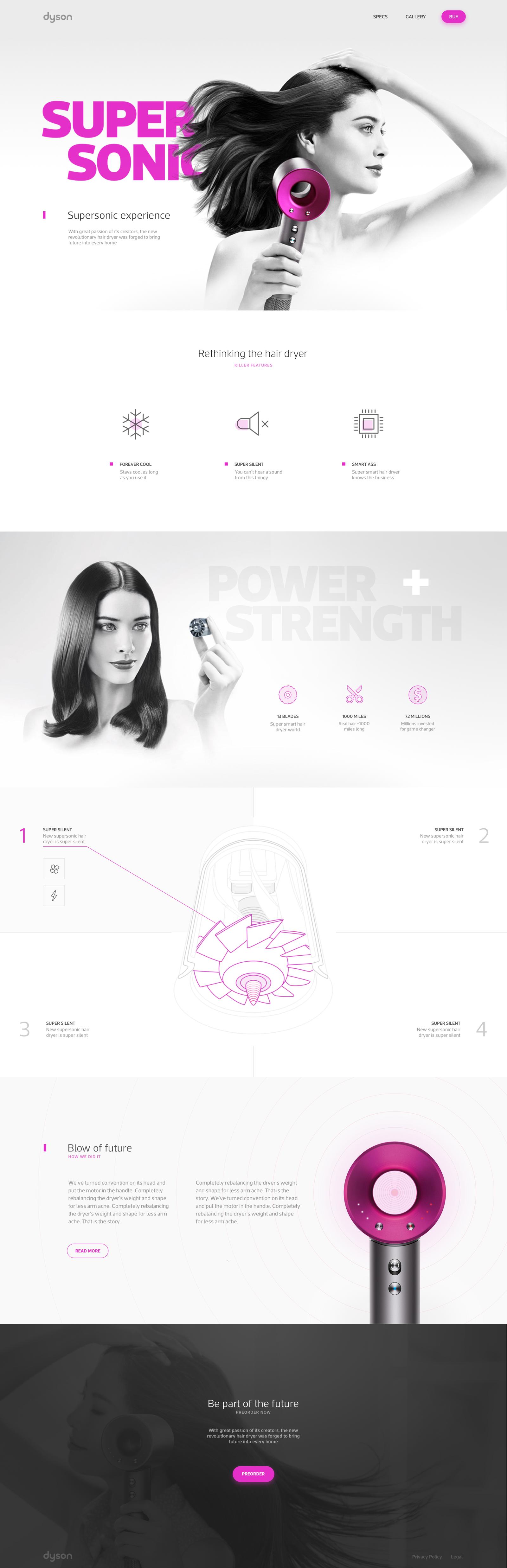 Dyson big sencillo pinterest website designs website and