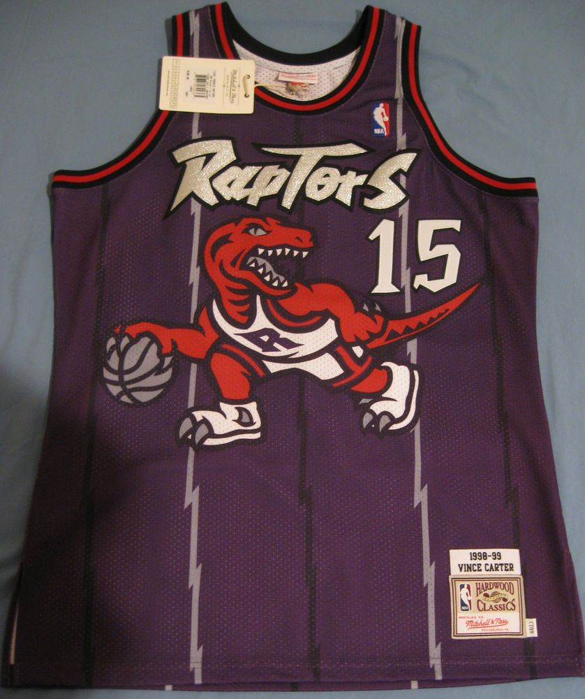 VINCE CARTER Mitchell Ness throwback jersey Toronto Raptors ... f72171c41
