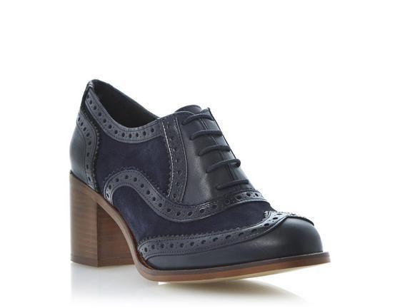 Heeled brogues, Brogue shoes, Leather heels