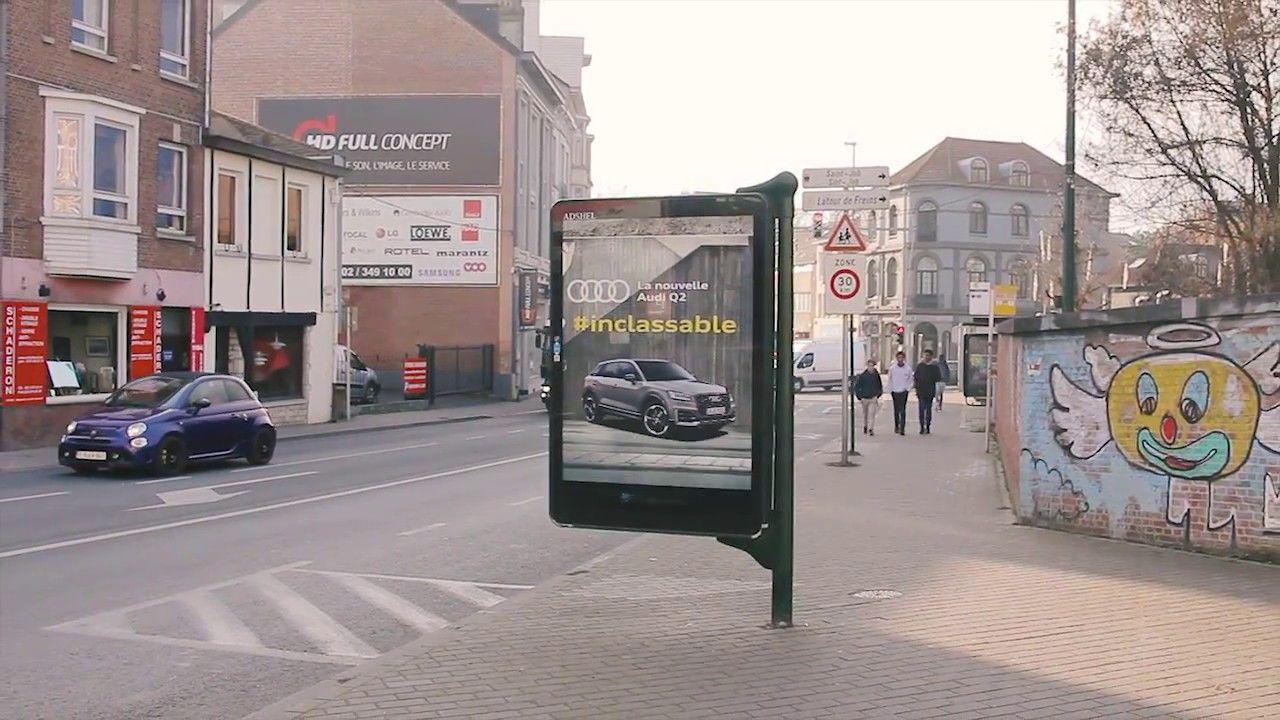 Audi Q2 - The Untaggable Billboard, by DDB Brussels February 2017