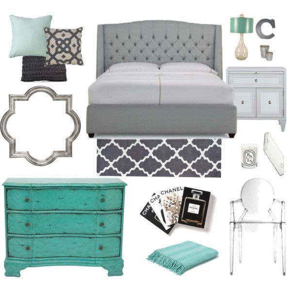 Turquoise Grey Black Living Room: For Your Master, With Blush Accents Instead Of Turquoise