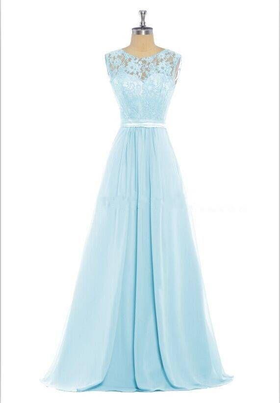 lange jurk mintgroen