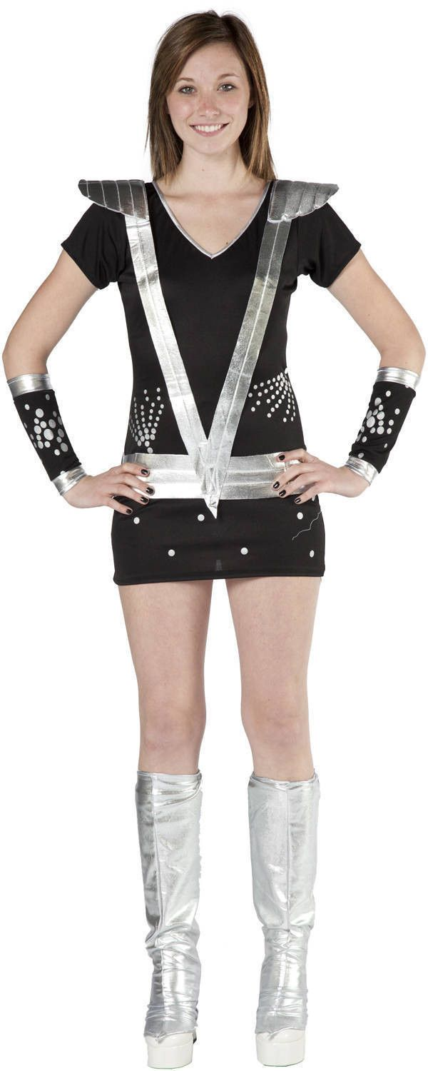 Sexy Spaceman Kiss Costume  Costume  Pinterest  Kiss Costume, Costumes And T Shirt Costumes-4069