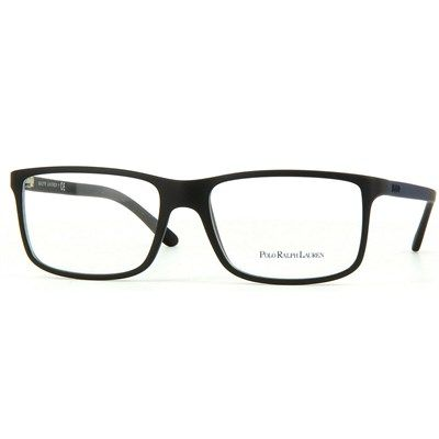 Óculos de Grau Polo Ralph Lauren Acetato Preto - PH21265505   GLASS 133f4b3c26