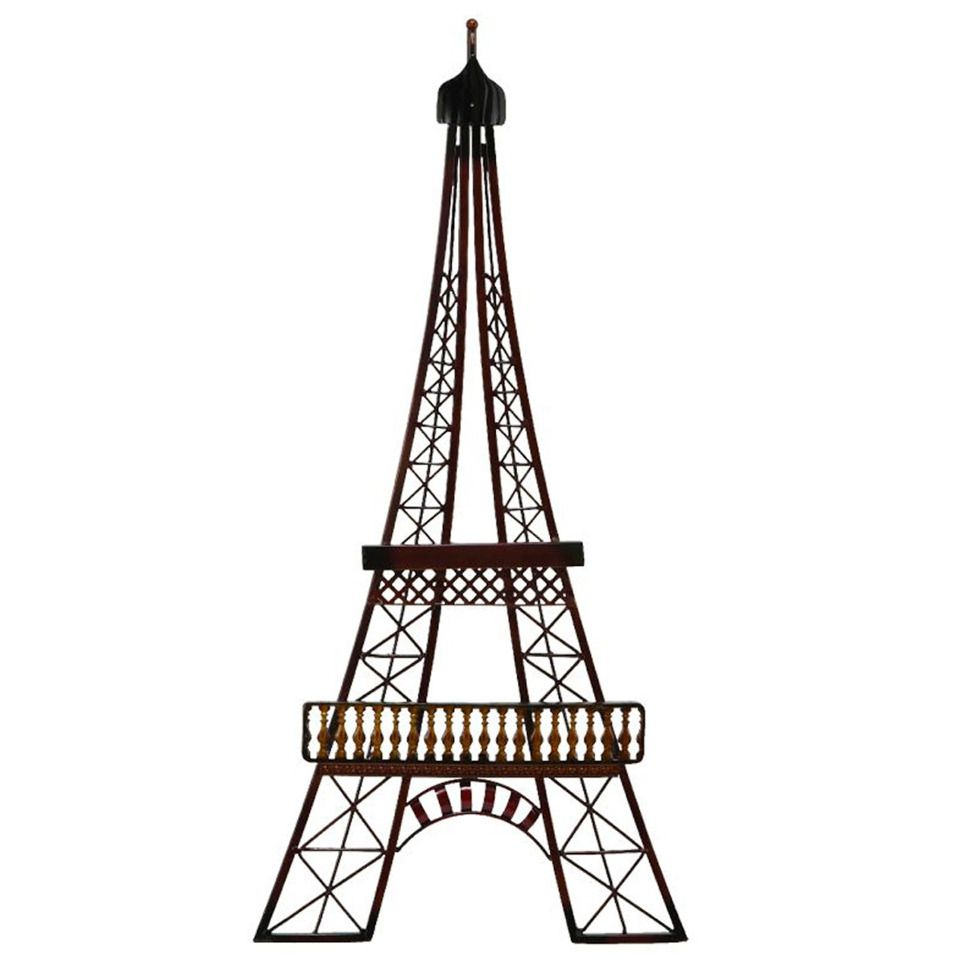Uma 29 H Metal Eiffel Tower Decor