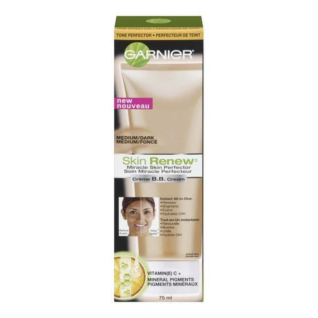 Garnier Skin Renew Beauty Balm Cream Miracle Skin Perfector