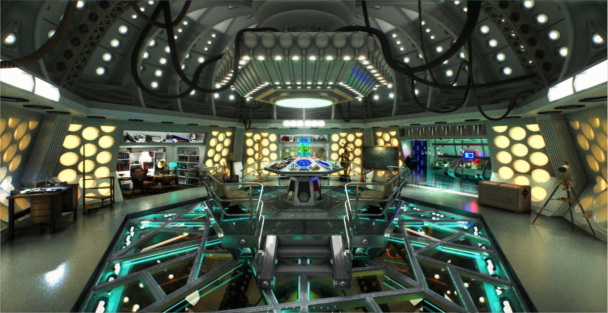 Elegant TARDIS Art | Steampunk Tardis Interior Console Room By Wonderwig Digital  Art ... | DOCTOR WHO | ART FS I | Pinterest | Tardis, Tardis Art And Fandom