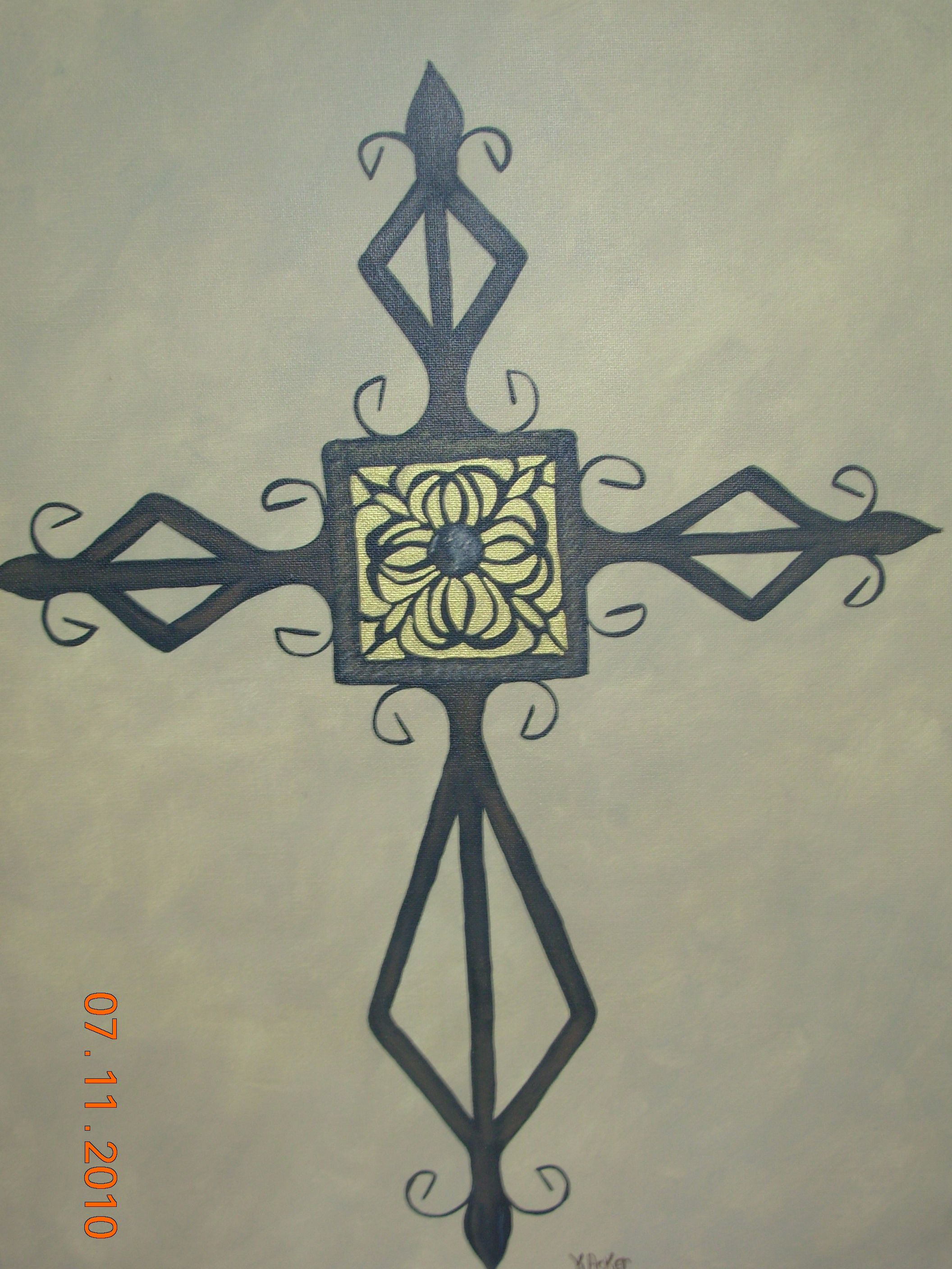 I love to paint Crosses!