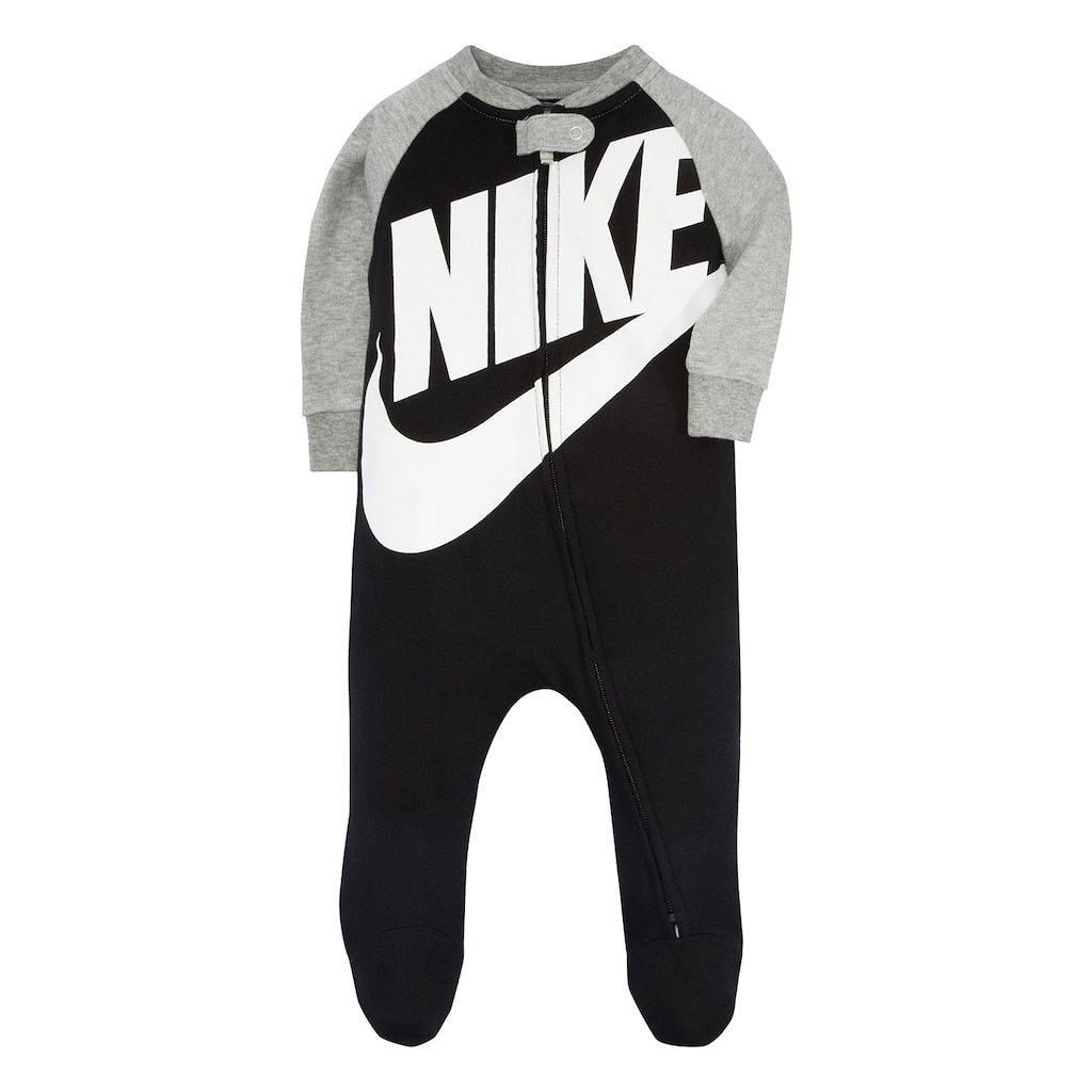 ebd5fd126 Baby Boy Nike Futura Black Footed Coverall | Products | Baby boy ...