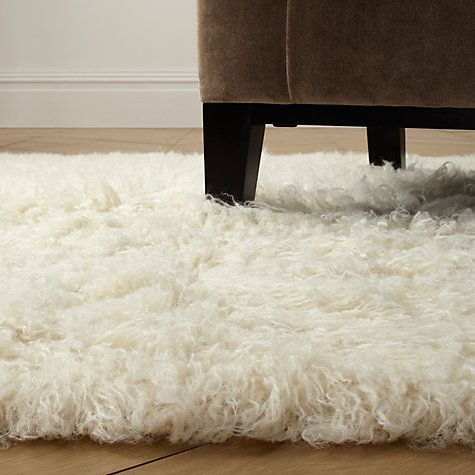 Buy flokati rugs natural online at new for Living room ideas john lewis