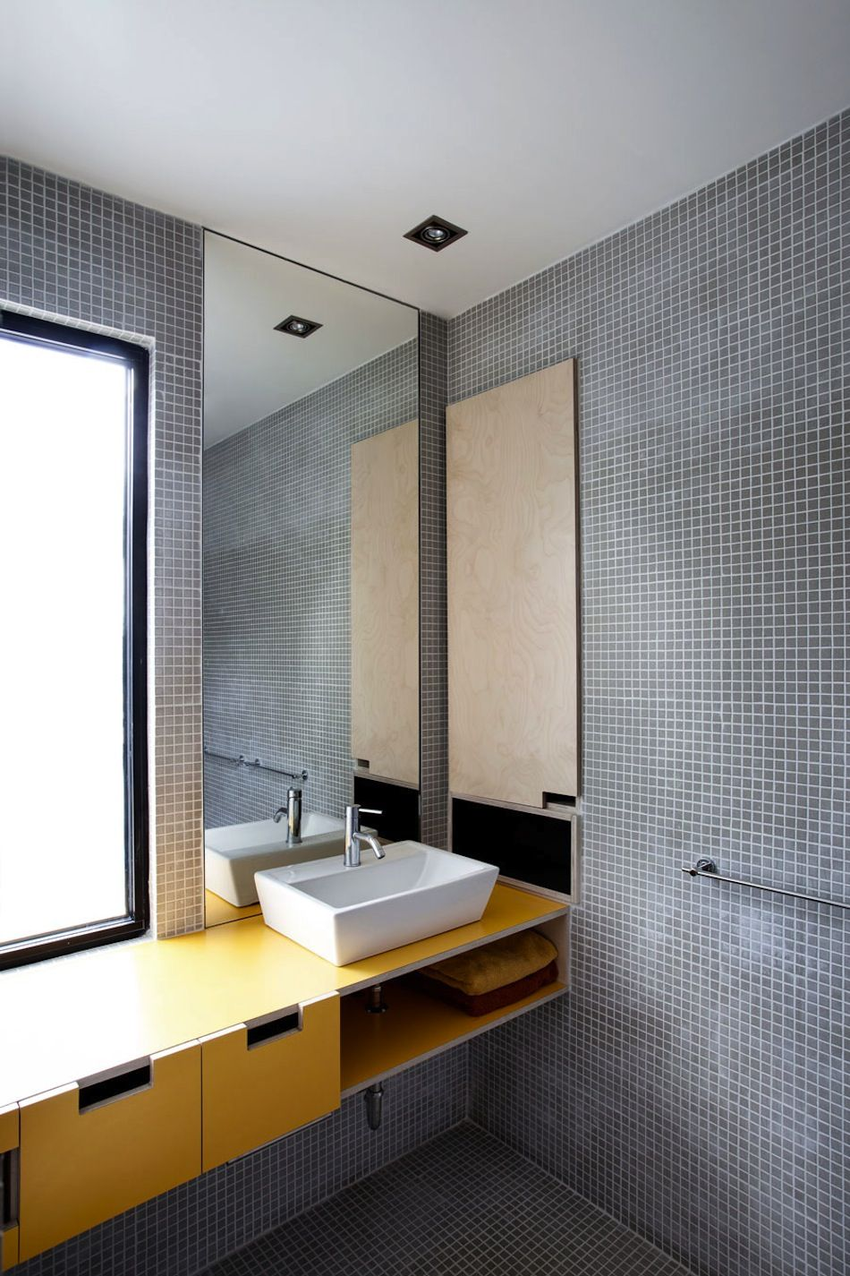 Stacked House Badezimmer Mosaik Badezimmer Und Waschtisch