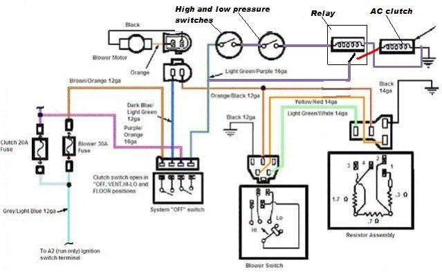 Xj Hvac System In Yj Lets Try It Page 5 Jeepforum Com Electrical Diagram Diagram Electrical Wiring Diagram