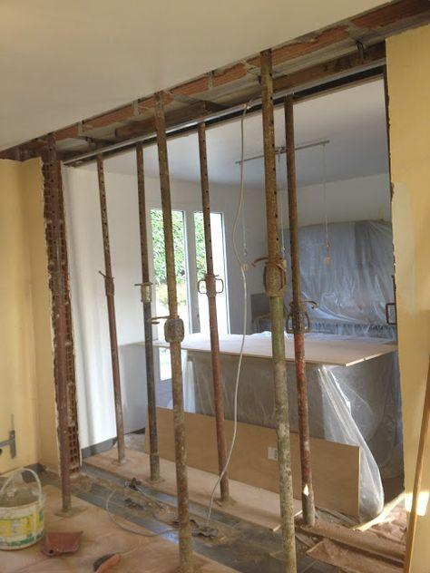Casser un mur porteur  les règles à suivre - faire ouverture dans mur porteur