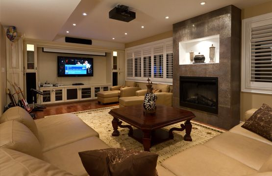 Basement Design Ideas | ... Basement Design, Basement Renovation Planning |  Finished Basement