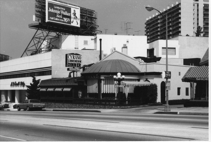Cyrano Restaurant On Sunset Blvd In West Hollywood