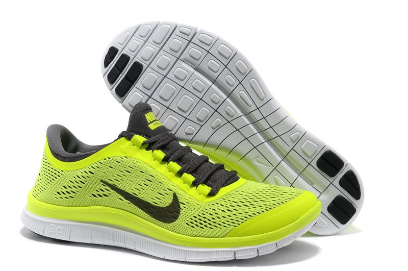 Nike Free 3.0 V5 womens running shoes sale green/black