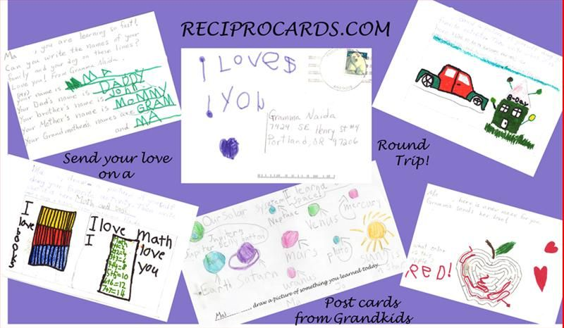 "Great idea for military kids! ""I Write You Write Cards"" Military Discount! 4 Free Cards - $10 Value.    ""RECIPROCARDS were designed by a military grandmother and her son to keep in touch with grandchildren living on military bases around the world.""    See more on MilitaryAvenue.com!     http://www.militaryavenue.com/PartnerDetail.aspx?ID=36975=View=493=241"