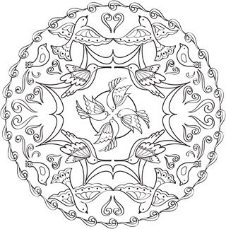 Mandalas - Coloring Pages for Adults   Coloring Books for Adults ...