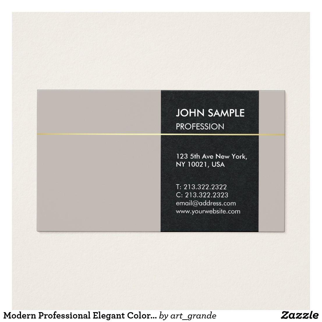 Modern Professional Elegant Colors Artistic Design Business