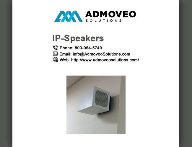 IP Speakers System   IP Speaker   Speaker system, Audio