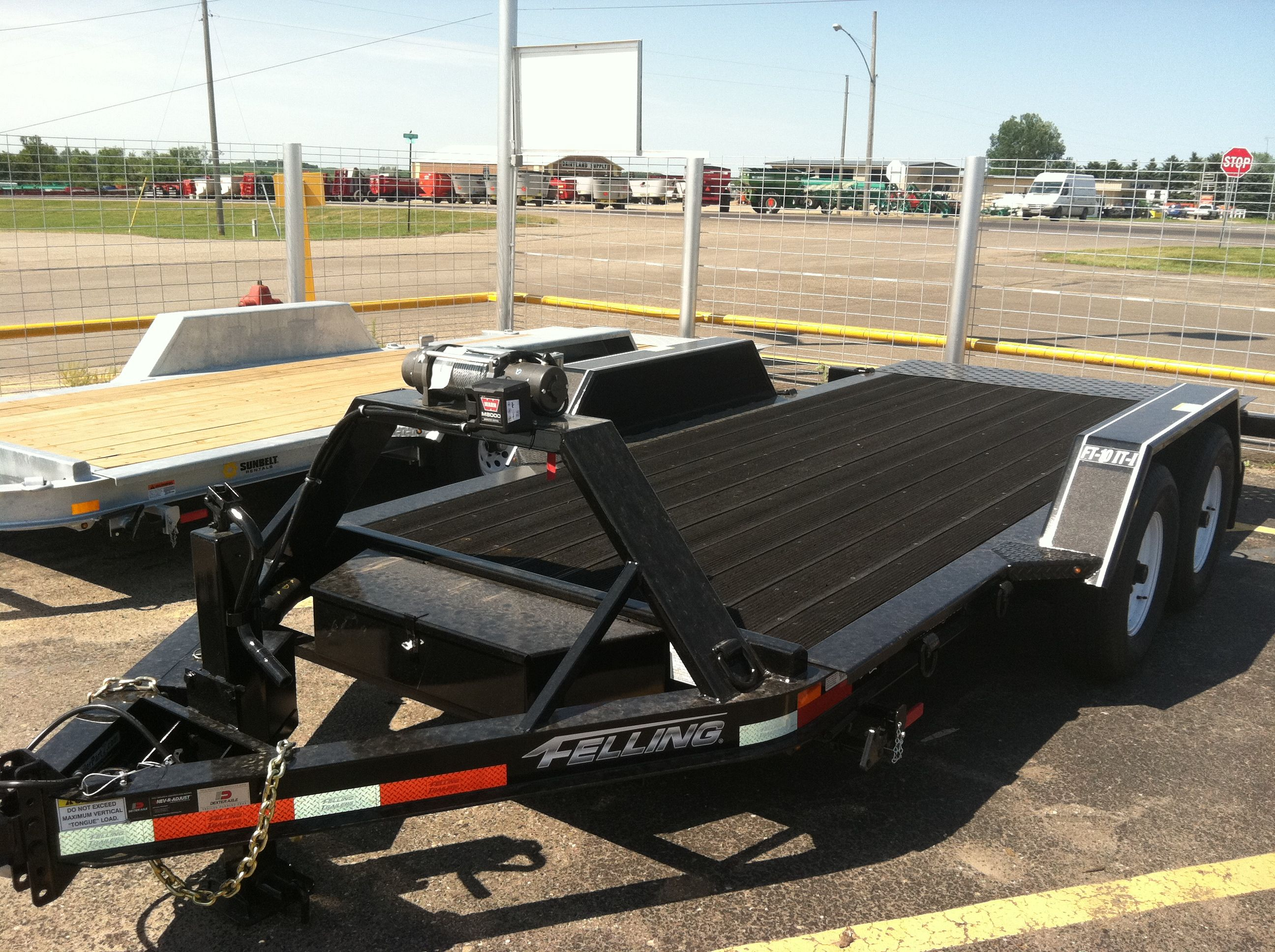 Industrial Tilt trailer by Felling Tilt Trailer, Car Hauler Trailer, Trailer  Plans, Trailer