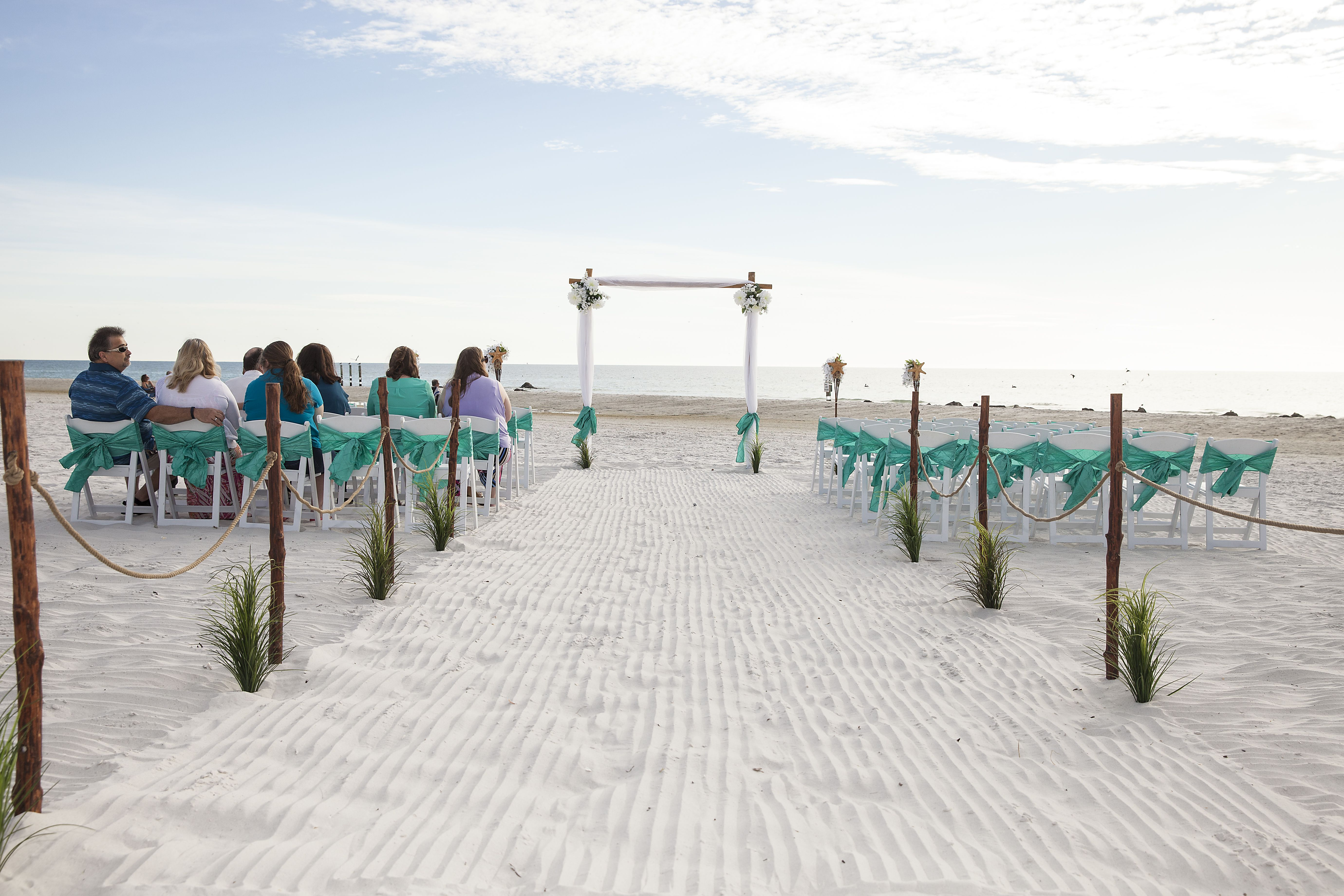 Beach Weddings We Ve Got New Aisle Way Selections