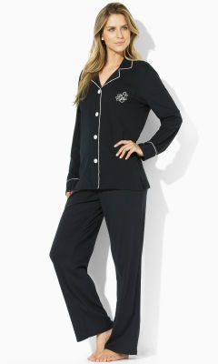 621575a138 Cotton Jersey Pajama Set - Lauren Sleepwear   Robes - RalphLauren ...