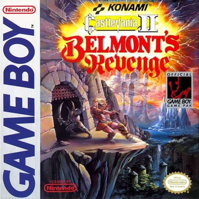 Castlevania Ii Belmont S Revenge For The Game Boy With Images