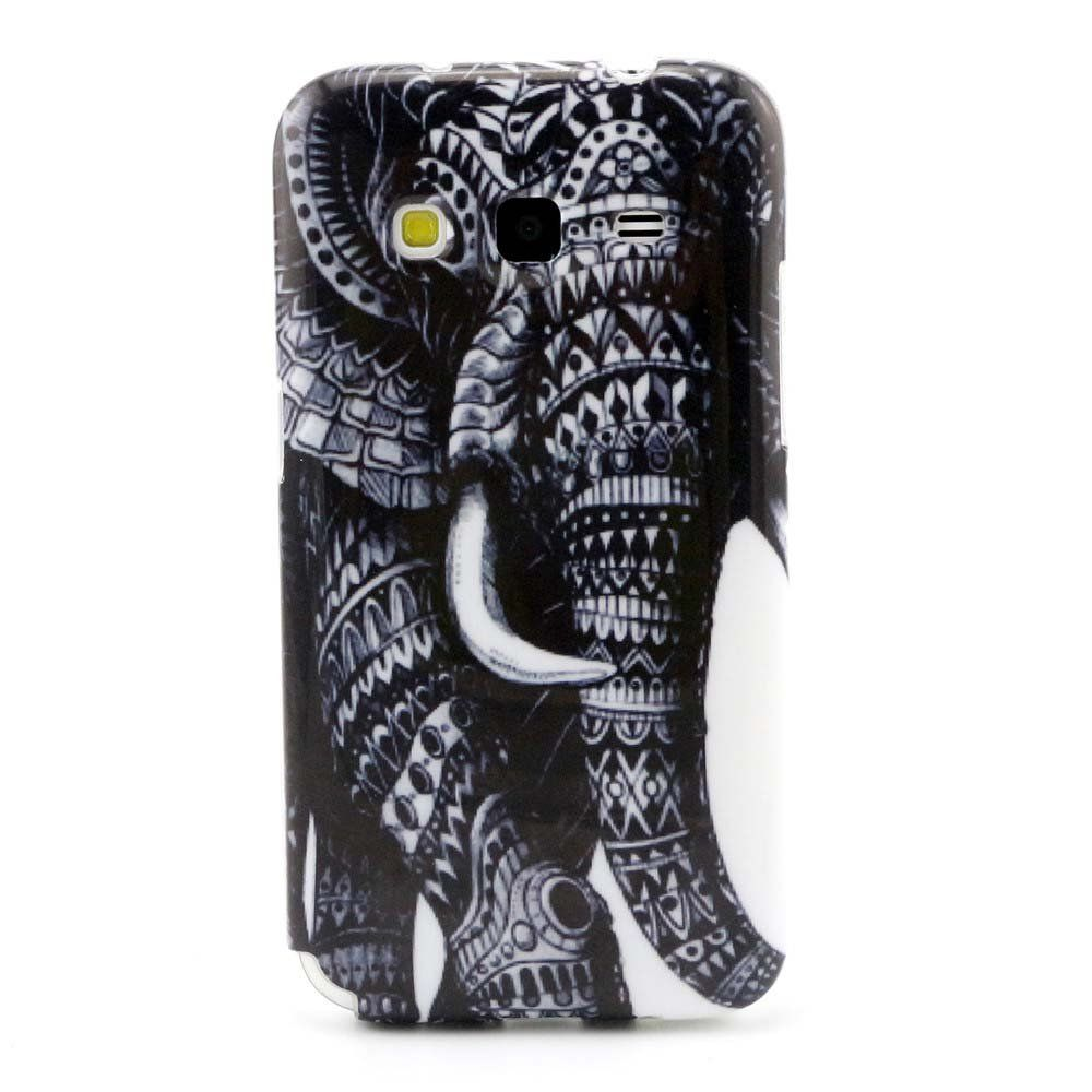 Galaxy Core Prime Case , G360 Case, Camiter Elephant Nose Design Soft Flexible Extremely Thin Gel TPU Series Scratch-Proof Back Protective Skin Cover Case for Samsung Galaxy Core Prime G360 /G3606/G3608/G3609/Prevail LTE