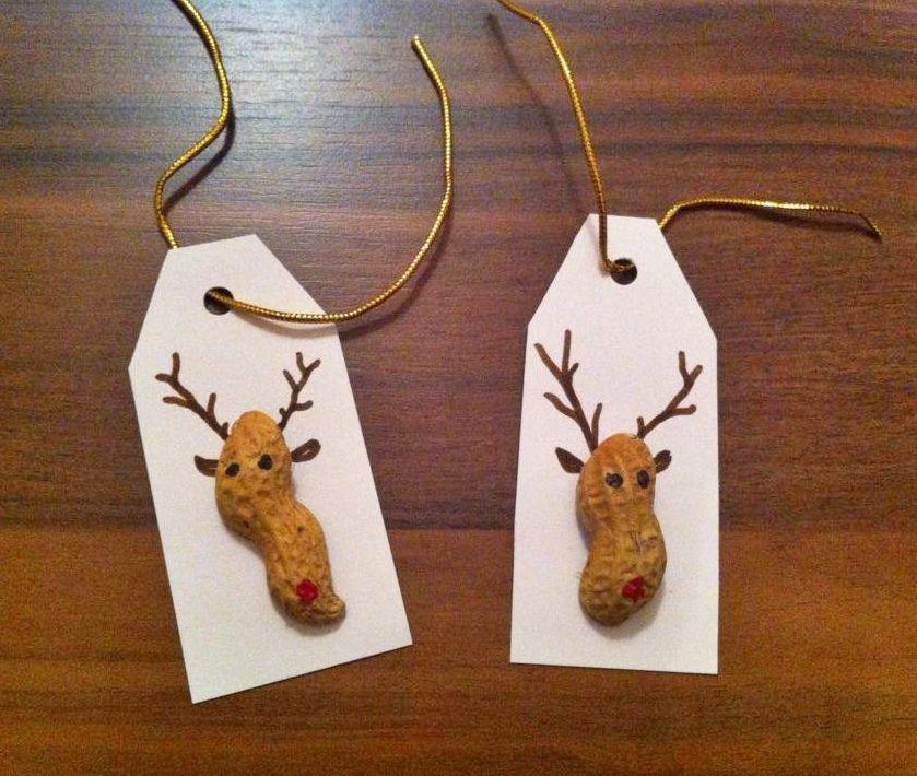 Weihnachtliche Geschenkanhänger Basteln Geschenkanhänger