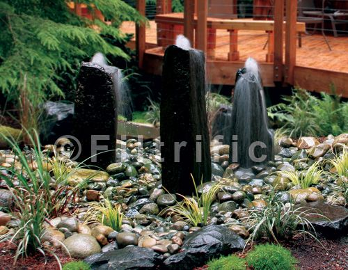 Water Feature Kits Our Bubbling Rock Water Feature Kits Present The Option Of A Vanishing Water Features In The Garden Rock Fountain Waterfalls Backyard