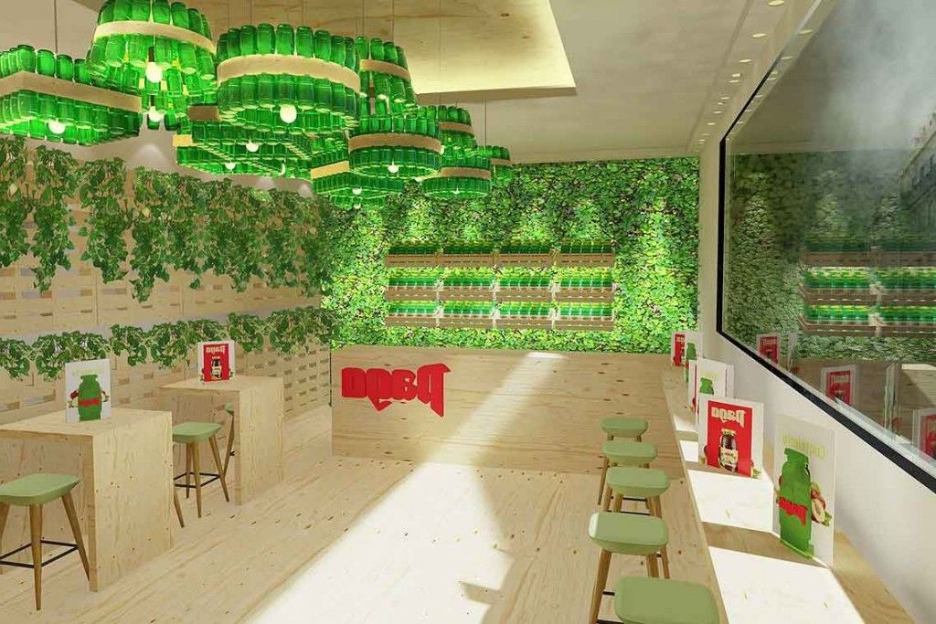 Home Design Using Waste Materials To Decorate Beautiful