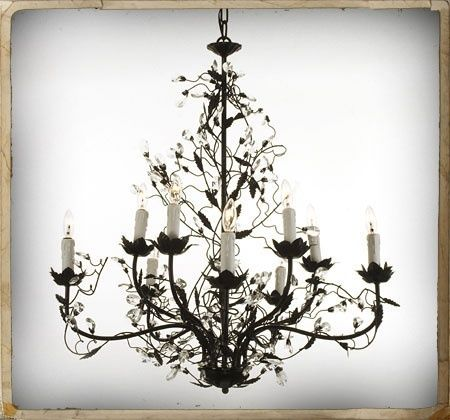 TRENDING GOTHIC STYLE LIGHTING | Candle style chandelier
