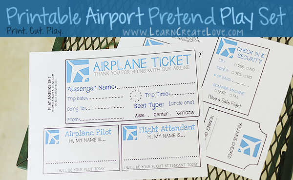 air travel activities  u0026 printables  klp linky