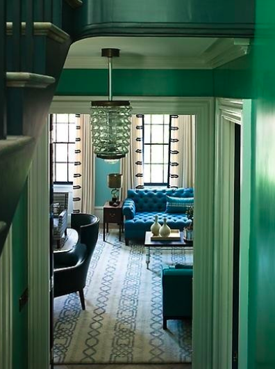 Art Deco Interior Design Green