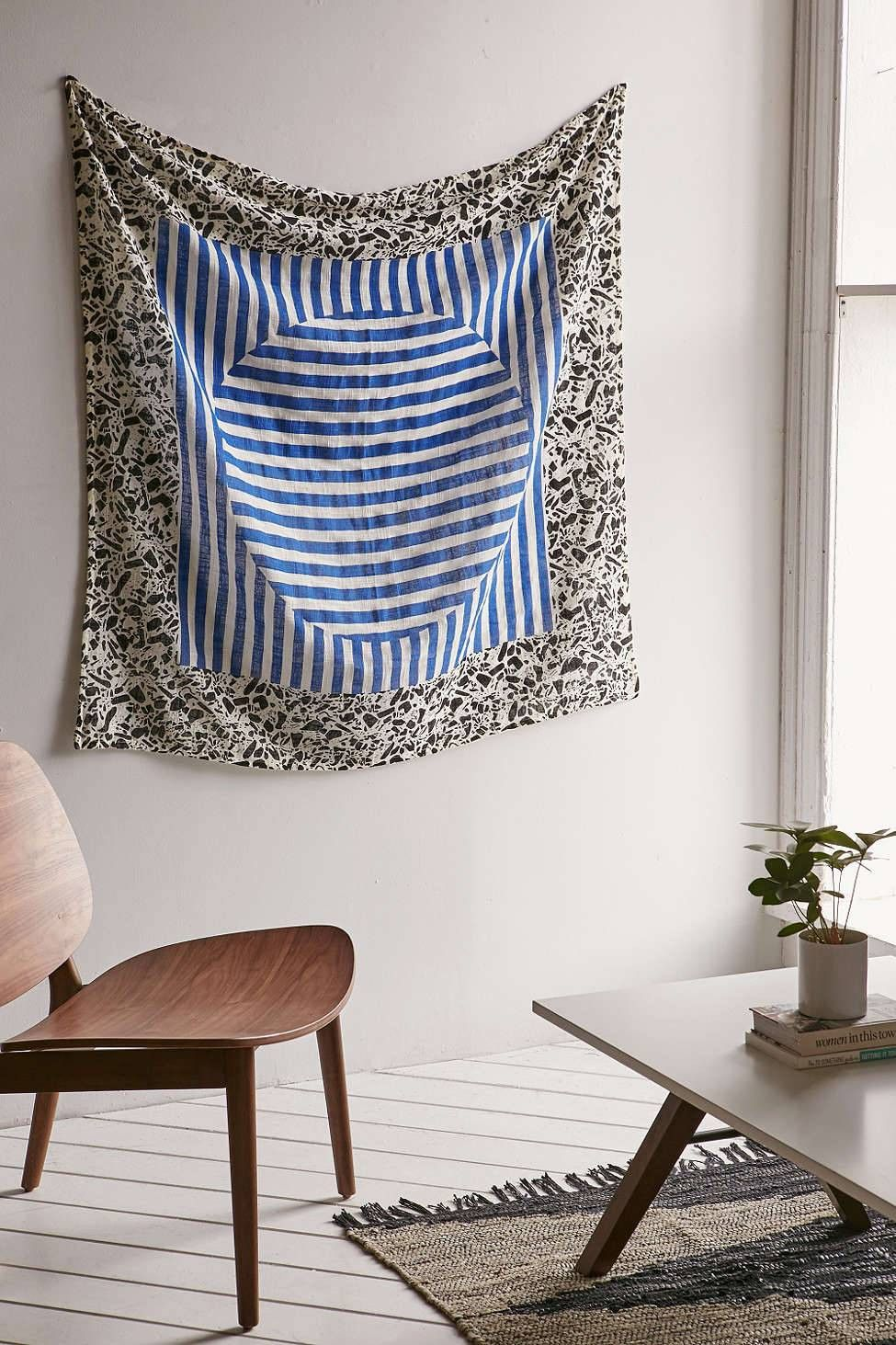 How To DIY Large Wall Art | Oversized wall art, Tapestry ...