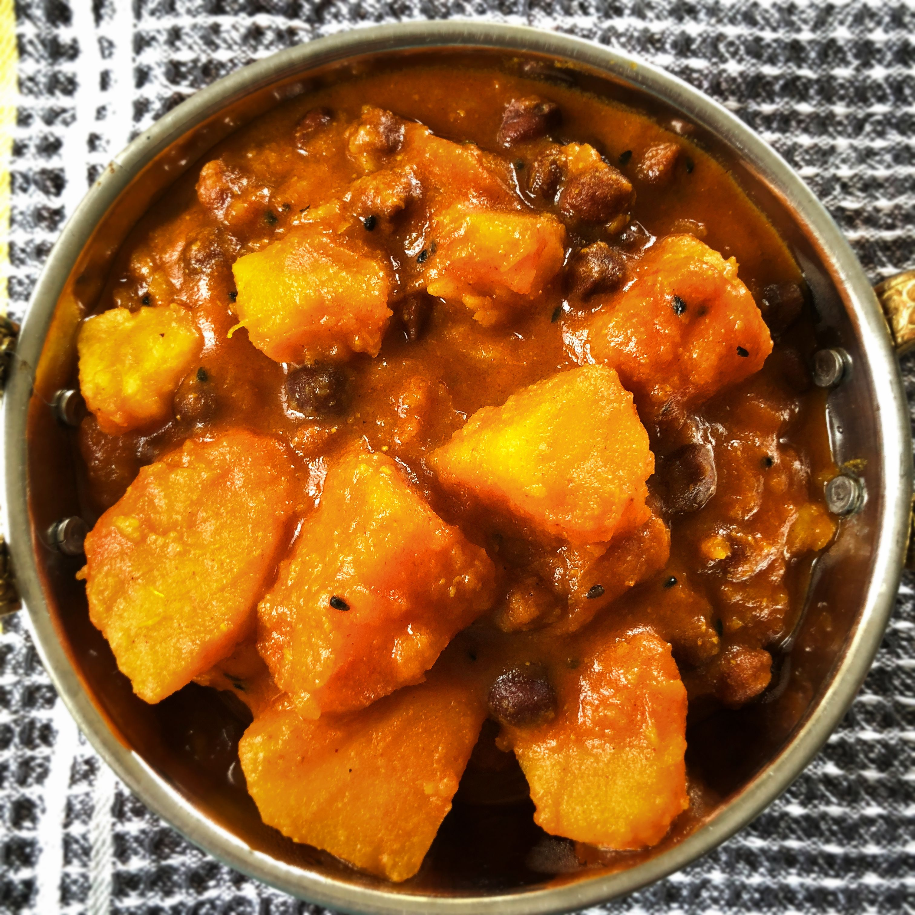 Bengali Pumpkin Curry Indian Pumpkin Recipes Pumpkin Curry