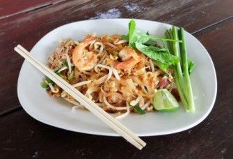 Thai Shrimp Vermicelli Stir Fry | Trim Down Club