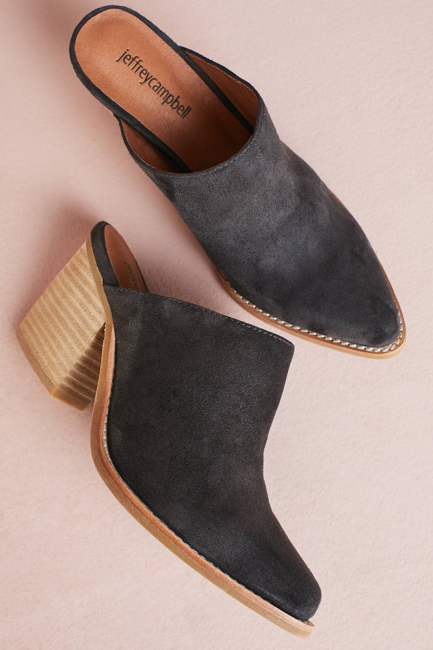 736e6881375 Shop the Jeffrey Campbell Favela Mules and more Anthropologie at  Anthropologie today. Read customer reviews