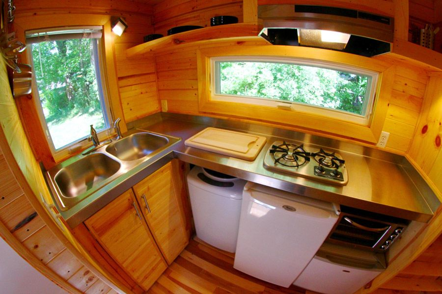 17 Best 1000 images about Tiny House Kitchen on Pinterest Stove Tiny