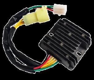 Free Shipping Voltage Regulator Rectifier Sh532b 12 For Honda Trx Fourtrax Trx Honda Voltage Regulator