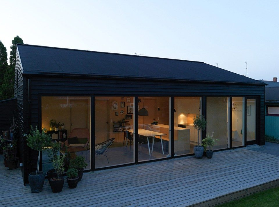 This small family house in Copenhagen has an economical design