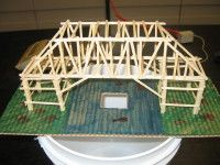Toothpick Bridge Science Project Science Projects Science Fair Projects Steam Activities
