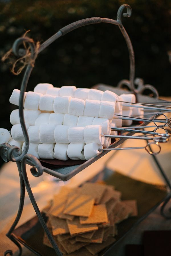 Smores bar how to throw a perfectly organized diy wedding in your smores bar how to throw a perfectly organized diy wedding in your backyard https solutioingenieria Image collections